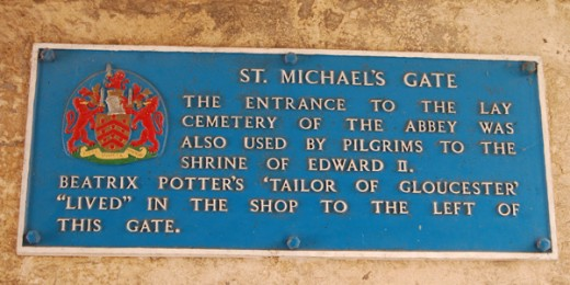 St Michaels Gate Plaque