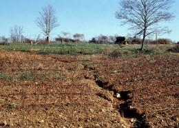 Rill erosion on a slope. Source: http://www.soils.usda.gov/