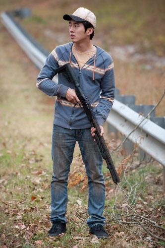 Steven Yeun as Glenn.