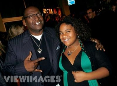 Randy Jackson and his daughter Zoe