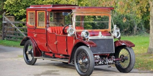 1912 Lanchester Limousine: Wasn't it Cold for the Chauffeur in Winter?