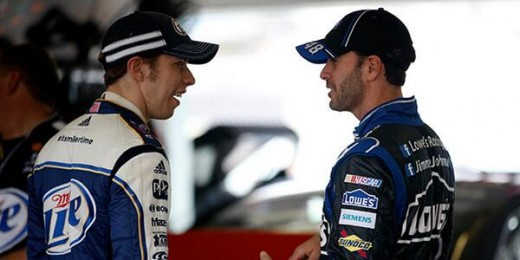 Two years ago, Keselowski took on Jimmie Johnson- and won