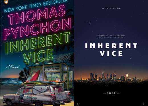 Inherent Vice by Thomas Pynchon; Inherent Vice Poster