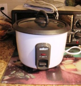 rice cooker, great tool, Bob Ewing photo