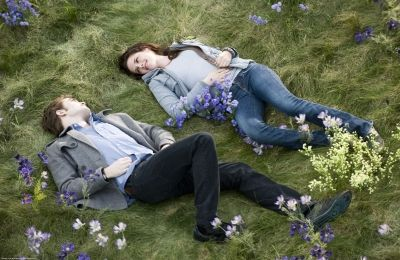 Edward and Bella - In Their Meadow