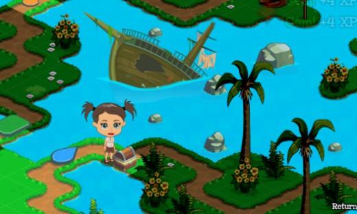 Treasure Chest on Treasure Isle