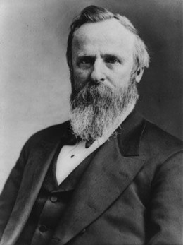 #19 Rutherford B. Hayes: None.