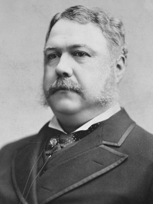 #21 Chester A. Arthur: None.