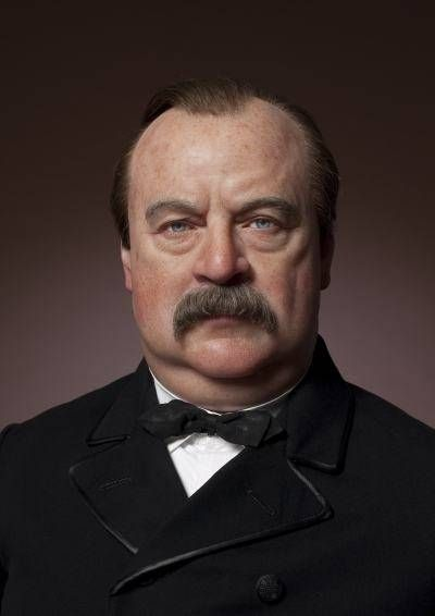 "#22 Grover Cleveland: ""Blaine, Blaine, James G. Blaine, The Continental Liar from the State of Maine."""