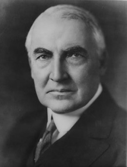 "#29 Warren G. Harding: ""Return to Normalcy. Cox and Cocktails."""