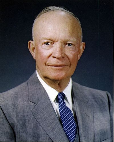"#34 Dwight D. Eisenhower: ""I Like IKE. Peace and Prosperity"""