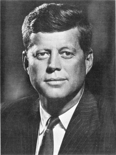 "#35 John F. Kennedy: ""Leadership for the '60's."""
