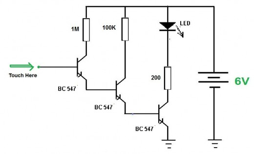 bipolar junction circuit  bjt  ideas
