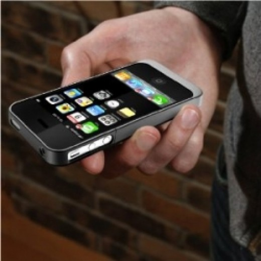Cell Phone Battery Extended and Protective Case in One Unit