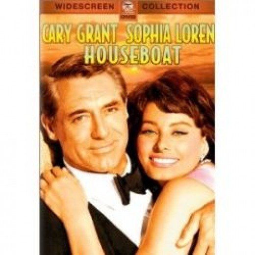 Houseboat 1958 - Cary Grant and Sophia Loren