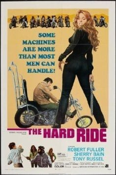 Motorcycle Movie Poster - The Hard Ride 1971