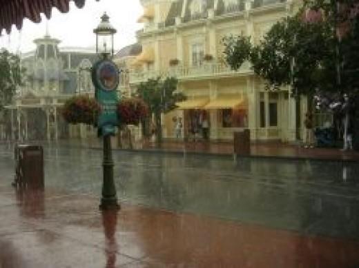 Rain at Walt Disney World by agius on flickr cc