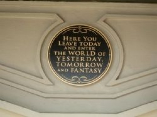 Magic Kingdom Entrance Plaque