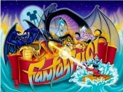 Promotional Fantasmic Artwork by Disney
