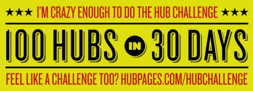 8 of 100 in my 100 Hubs in 30 Days Challenge!
