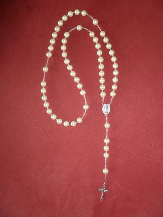 Swarovski Pearl - 5 Decade Rosary