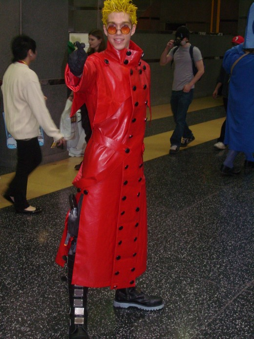 Vash the Stampede...Great Costume