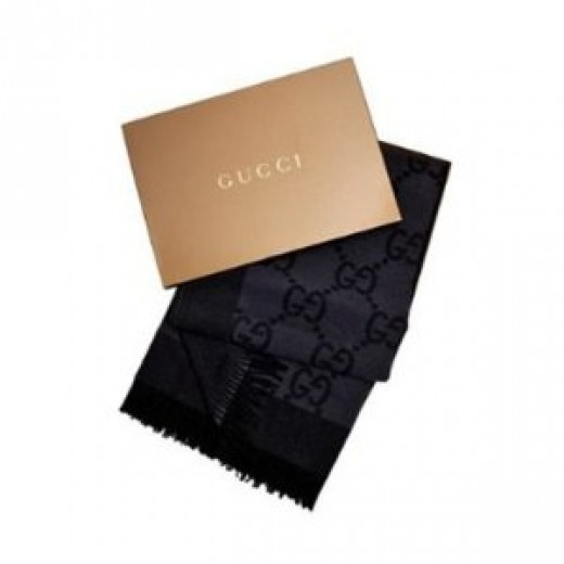 Gucci Luxury Throw Blanket - Black
