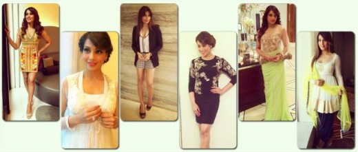 Here are some of Bipasha Basu's most fashionable moments during her Creature 3D promotions.View pics on Biscoot Showtym.