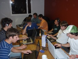 Exciting LAN party!