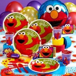 Horray for Elmo party kit