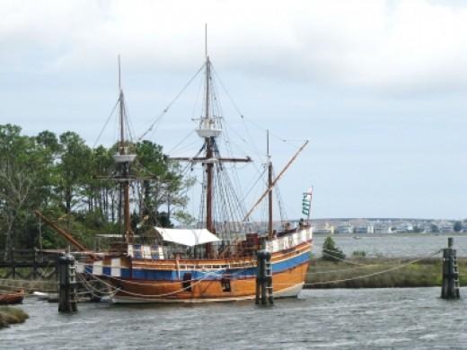 Elizabeth II ship reproduction