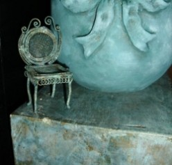 Thrifty Decorating: Faux Verdigris Finish