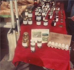 Free range duck eggs at Seattle Farmers Market