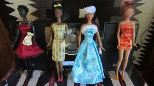 Multiethnic Barbies