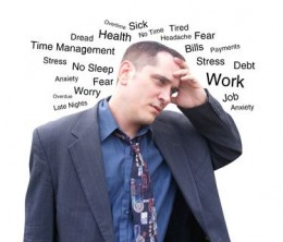 Stresses that lower immune function