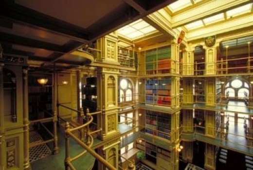 Riggs Library, Georgetown University, USA