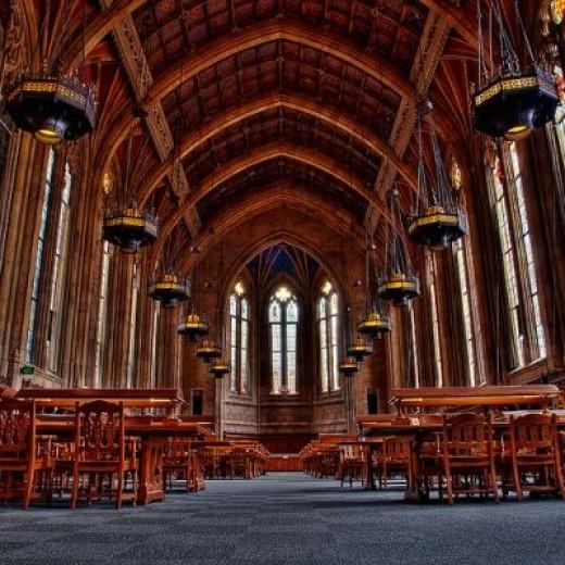 Suzzallo Library, Seattle, Washington, USA