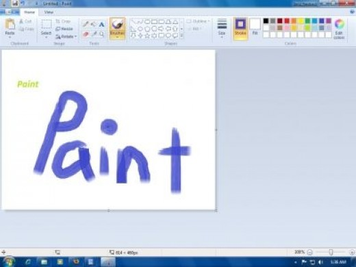 New Features For Paint In Windows 7