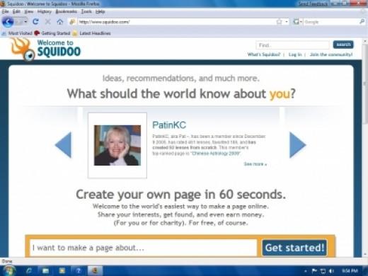 Mozilla Firefox 3.05 Running On Windows 7