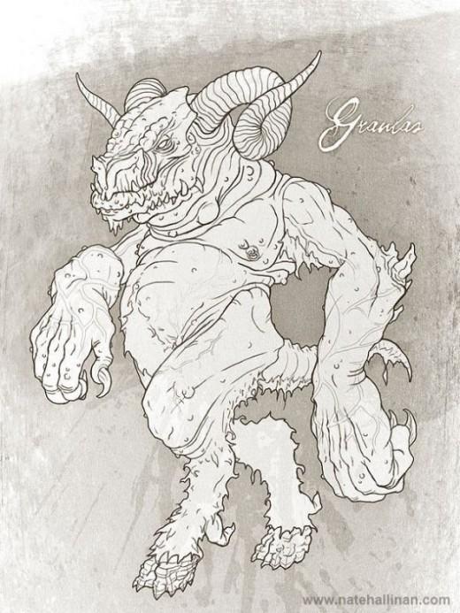 Graulus Fablehaven Demon