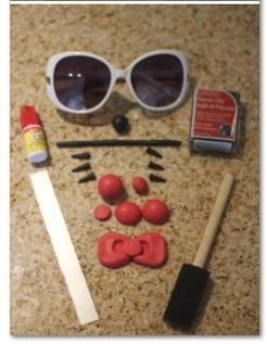 make hello kitty sunglasses supplies