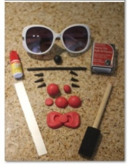 make hello kitty sunglasses supplies