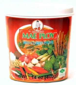 Tub of Red Curry Paste