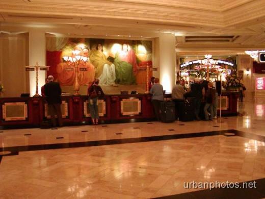 Monte Carlo Las Vegas lobby