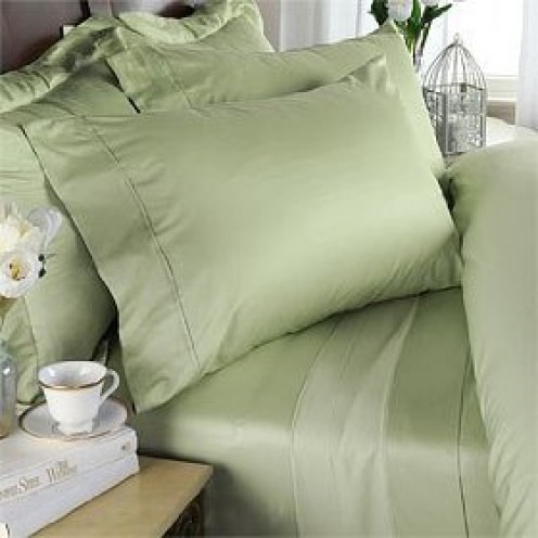 Bamboo sheets and bedding.