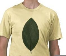 Coca leaf t-shirt