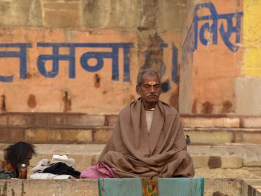 Ganges meditation