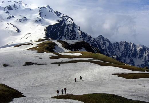 Sarpass in Himachal Pradesh-India