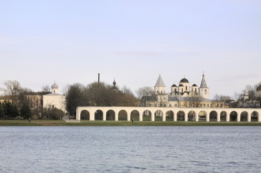 Novgorod was a major Viking trading post, eventually growing to become the second greatest city in the Viking kingdom of Kiev