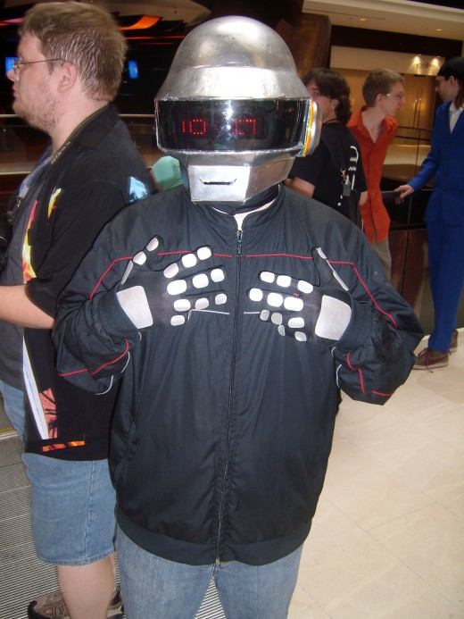 Daft Punk!!!! Love the Band